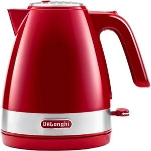 цена на Чайник электрический DeLonghi KBLA 2000.R красный