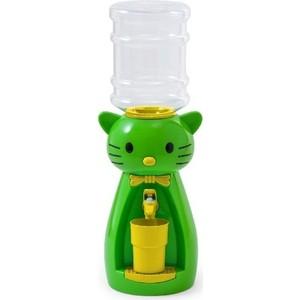 Кулер для воды VATTEN kids Kitty Lime (со стаканчиком)