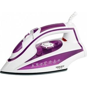 Утюг Delta LUX DL-352 фиолетовый цена и фото