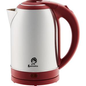 цены Чайник электрический ВАСИЛИСА Т33-2000 нержавейка/красный