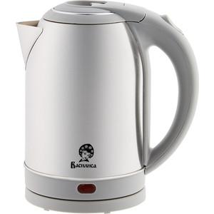 Чайник электрический ВАСИЛИСА Т32-2000 нержавейка/серый