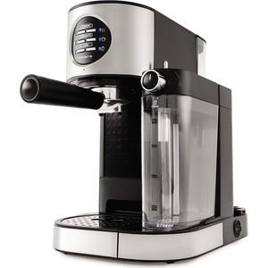 Кофеварка Polaris PCM 1530AE Adore Cappuccino кофеварка эспрессо polaris pcm 1530ae adore cappuccino 1350вт нержавеющая сталь черный