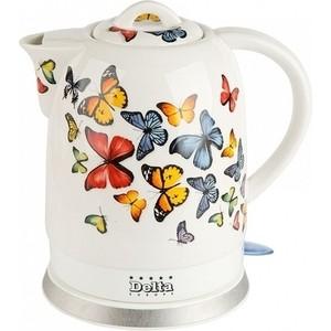 Чайник электрический Delta DL-1233A Бабочки