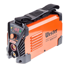 Сварочный инвертор Wester Mini 160Т набор wester инвертор сварочный compact 180 ушм hammer flex usm500le