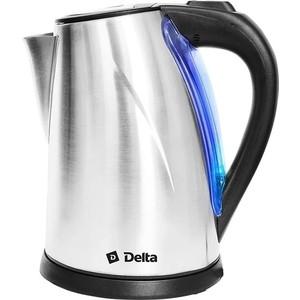 Чайник электрический Delta DL-1033 нержавейка