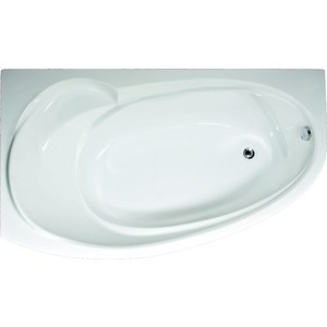 Акриловая ванна 1Marka Marka One Julianna асимметричная 170x100 см левая, на каркасе (4604613000134, 4604613315870) акриловая ванна 1marka marka one elegance 130x70