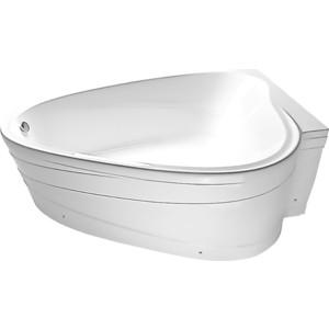 Акриловая ванна 1Marka Marka One Love асимметричная 185x135 см правая, на каркасе (4604613000141, 4604613102418)