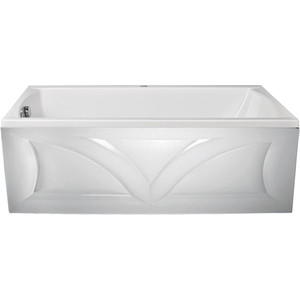 Акриловая ванна 1Marka Marka One Modern прямоугольная 160x70 см, с ножками (4604613100117, 4604613101299) акриловая ванна 1marka marka one 4604613316396 190x90