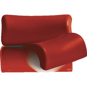 Подголовник 1Marka Lia на присосках, красный (4604613300227)