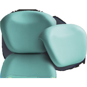 Подголовник для ванны 1Marka Relax накладной, зеленый (4604613001834)