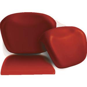 Подголовник для ванны 1Marka Relax накладной, красный (4604613300234)