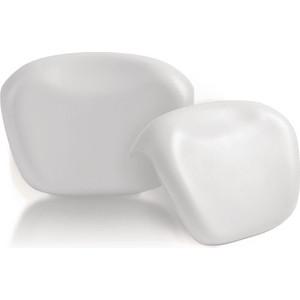 Подголовник для ванны 1Marka Relax накладной, белый (4604613001841)