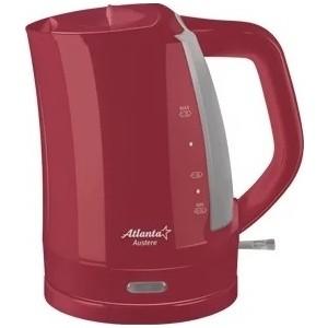Чайник электрический Atlanta ATH-617 красный чайник электрический atlanta ath 2373 белый голубой