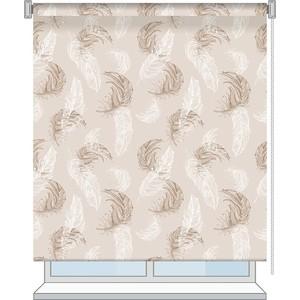 Рулонная штора Волшебная ночь 120x175 Стиль Этно Рисунок Aria