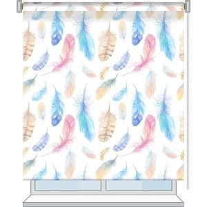 Рулонная штора Волшебная ночь 100x175 Стиль Этно Рисунок Fluff