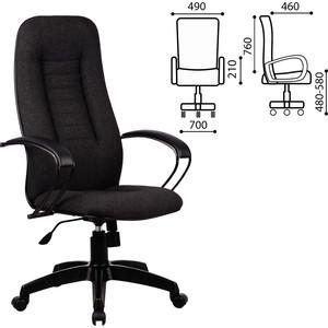 Кресло офисное Метта BP-2PL ткань темно-серое ш/к 82627