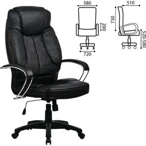 Кресло офисное Метта LK-12PL экокожа черное ш/к 86342