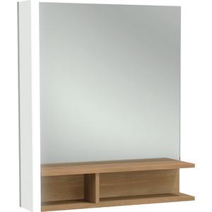 Зеркало Jacob Delafon Terrace 60x68,5 см, подсветка слева (EB1180G-NF) зеркало 60х68 5 см jacob delafon terrace eb1180d nf