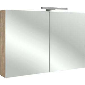 Зеркальный шкаф Jacob Delafon 100x65 см, квебекский дуб (EB797RU-E10)