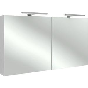 Зеркальный шкаф Jacob Delafon 120x65 см, белый блестящий (EB798RU-G1C)