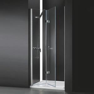Душевая дверь Cezares Anima BS 90x195 прозрачная, хром (Anima-W-BS-90-C-Cr)