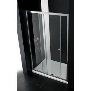 Душевая дверь Cezares Anima W-BF-1 130 прозрачная, хром (Anima-W-BF-1-130-C-Cr)