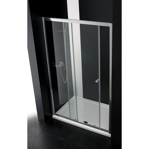 Душевая дверь Cezares Anima W-BF-1 140 прозрачная, хром (Anima-W-BF-1-140-C-Cr)