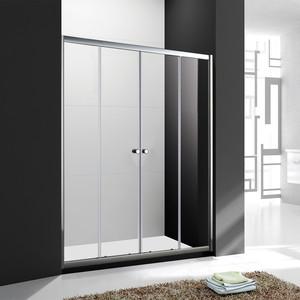 Душевая дверь Cezares Anima BF-2 170x195 рифленая Punto, хром (Anima-W-BF-2-170-P-Cr)