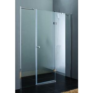 Душевая дверь Cezares Verona W-B-13 130 прозрачная, хром (VE-W-40-FIX-C-Cr, Verona-W-60/30-C-Cr)