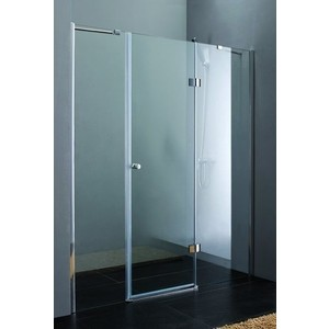 Душевая дверь Cezares Verona W-B-13 165 прозрачная, хром (VE-W-80-FIX-C-Cr, Verona-W-60/30-C-Cr) душевая дверь в нишу cezares verona verona w b 13 80 60 60 c cr