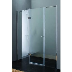 Душевая дверь Cezares Verona W-B-13 195 прозрачная, хром (VE-W-100-FIX-C-Cr, Verona-W-60/40-C-Cr)