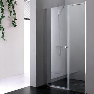 Душевая дверь Cezares Elena W-B-11 90 прозрачная, хром (Elena-W-60-C-Cr, VE-W-30-FIX-C-Cr)