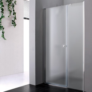 Душевая дверь Cezares Elena W-B-11 90 Punto, хром, левая (Elena-W-60-P-Cr-L, VE-W-30-FIX-P-Cr)