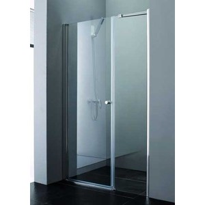 Душевая дверь Cezares Elena W-B-11 153 прозрачная, хром (Elena-W-60-C-Cr, VE-W-100-FIX-C-Cr)
