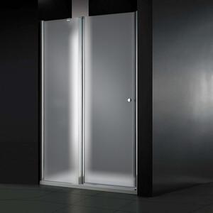 Душевая дверь Cezares Elena W-B-12 90 Punto, хром, левая (Elena-W-60/30-P-Cr-L, VE-W-WLM-Cr)