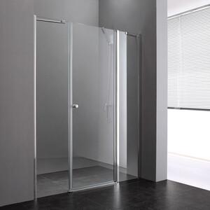 Душевая дверь Cezares Elena W-B-13 120 прозрачная, хром (Elena-W-60/30-C-Cr, VE-W-30-FIX-C-Cr)