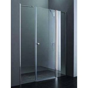 Душевая дверь Cezares Elena W-B-13 160 Punto, хром, правая (Elena-W-60/40-P-Cr-R, VE-W-60-FIX-P-Cr)