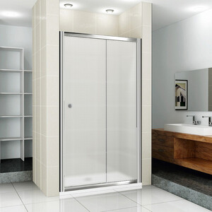 Душевая дверь Cezares Pratico BF-1 100 Punto, хром (Pratico-BF-1-100-P-Cr)
