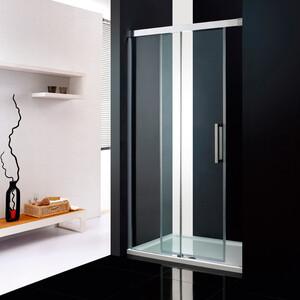 Душевая дверь Cezares Premier-Soft W-BF-1 120 прозрачная, хром (Premier-Soft-W-BF-1-120-C-Cr-IV)