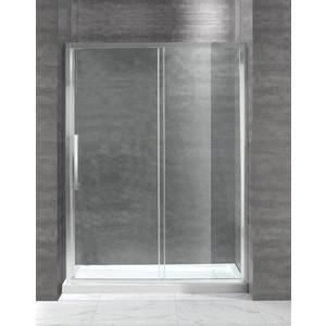 Душевая дверь Cezares Lux Soft BF-1 150x200 прозрачная, хром (Lux-Soft-W-BF-1-150-C-Cr-IV)
