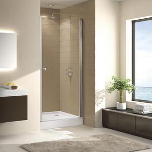 Душевая дверь Cezares Eco O-B-1 60 прозрачная, хром (Eco-O-B-1-60-C-Cr)