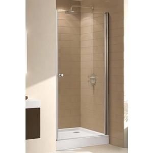 Душевая дверь Cezares Eco O-B-1 85 прозрачная, хром (Eco-O-B-1-85-C-Cr)