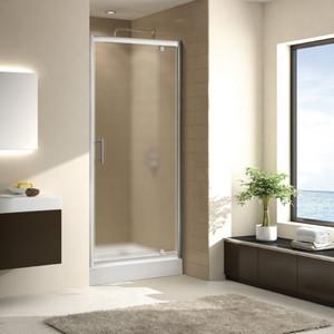 Душевая дверь Cezares Eco O-BA-1 80 Punto, хром (Eco-O-BA-1-80-P-Cr)
