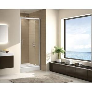 Душевая дверь Cezares Eco O-BA-1 90 прозрачная, хром (Eco-O-BA-1-90-C-Cr)