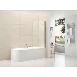 Шторка на ванну Cezares Eco O-V-1-80 Punto, хром, правая (ECO-O-V-1-80/140-P-Cr-R) цена