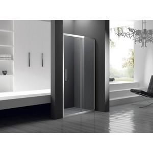 Душевая дверь Cezares Lucido BF-1 120 прозрачная, хром (LUCIDO-BF-1-120-C-Cr)