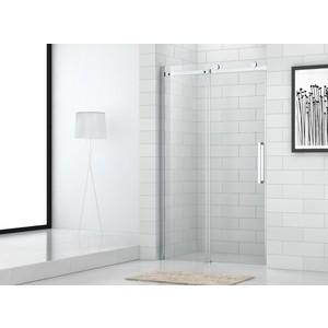 Душевая дверь Cezares Stylus O-M-BF-1 160 прозрачная, хром (Stylus-O-M-BF-1-160-C-Cr)