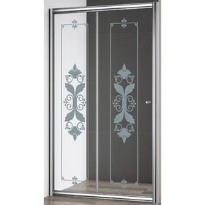 Душевая дверь Cezares Giubileo BF-1 120 Punto, хром (Giubileo-BF-1-120-CP-Cr)