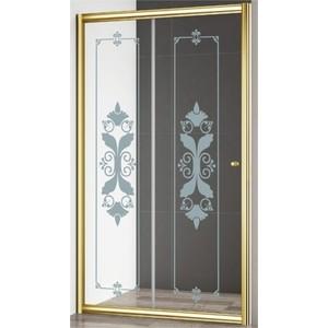 Душевая дверь Cezares Giubileo BF-1 120 Punto, золото (Giubileo-BF-1-120-CP-G)