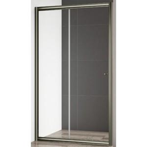 Душевая дверь Cezares Giubileo BF-1 140 прозрачная, бронза (Giubileo-BF-1-140-C-Br)